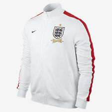 Nike England N98 Men's 150th Anniversary Track Jacket 2013/14, White Size: XL