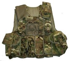 British Army MTP Osprey Body Armour Vest + 12 Pouches 180/116 MOLLE