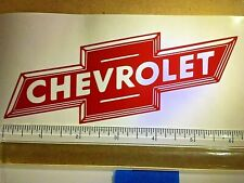 Red Chevy Bowtie Decal-You Get 2 Of Them