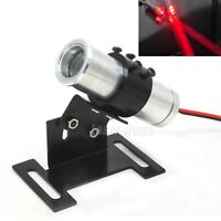 650nm 130mW Red Thick Beam Dot Laser Diode Module LED 22x70mm +Adjustable Holder