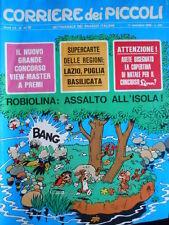 Corriere dei Piccoli n°49 1968 - con super carta delle Regioni  [G.254A]