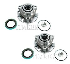 Pair Set Of 2 Rear Timken Wheel Bearing Hub Kit for Pontiac Fiero Standard RWD