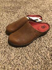 Crocs Cobbler 2.0 Leather Clogs Cinnamon Mahogany W6.5 Casual Sandals Shoes