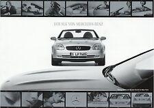 Mercedes SLK Prospekt 1996 3/96 200 230 Kompressor brochure broszura esite Auto