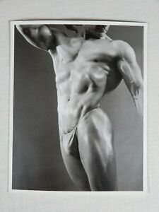 Physique Photography, Bodybuilding, Posing Strap, WPG, Torso Series 4x5 Nice!!