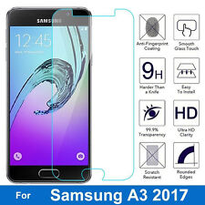 New 100% Genuine Tempered Glass Screen Protector Film For Samsung Galaxy A3 2017