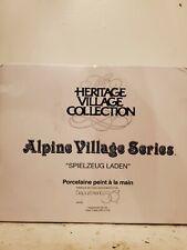 """Alpine Village Series """"Spielzeug Laden� Nib"""