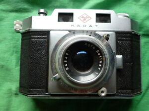 Agfa Karat antike vintage Kamera Fotoapparat aus Sammler Nachlass