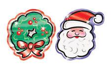 Navidad Adornos De Aluminio brillante profesor Kids Brillante recompensa pegatinas