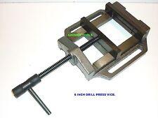 """DRILL PRESS VICE 6"""" / 150mm WIDE JAWS - CAST IRON - NEW"""
