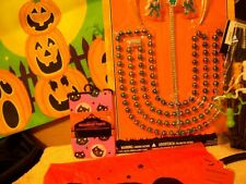 NEW LOT HALLOWEEN Costume Tiara Beads Pumpkin Bag Children TREAT Baby Tights Bib