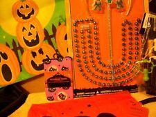 NEW LOT HALLOWEEN Costume Tiara Beads Pumpkin Bag Children TREAT Baby Tights Bib