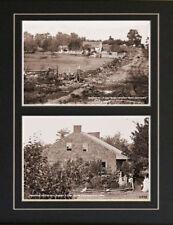 Battle of Gettysburg Photographs General Meade & Lee
