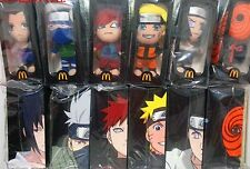 2013 China Mcdonald's NARUTO plush toys set of 6 NIB