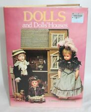 Vintage Doll Book DOLLS AND DOLLS' HOUSES Constance Eileen King