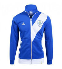 Adidas Performance Soccer Brazil Beach Track Top Jacket - Blue - US Men Large