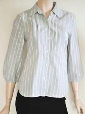 Sportscraft Career Striped Button Down Shirts for Women