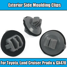 20x Clips For Toyota Lexus Land Cruiser GX Exterior Side Moulding Grey Plastic