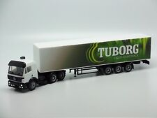 Mercedes Benz Truck with Tuborg Trailer AMA 1/87 HO Scale