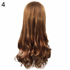 Women Long Curly Wavy Full Wig Heat Resistant Hair Cosplay Party Lolita Popular