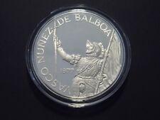 Panama - 20 Balboas - 1977 - Vasco Nunez - 5 Unzen 925er Silber