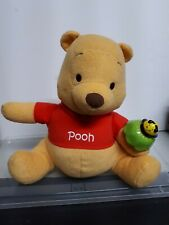 2009 Mattel Fisher Price Winnie The Pooh with Rattle Talking and Dancing Plush