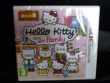 JEU 3DS HELLO KITTY HAPPY FAMILY  Jeux d'aventure NEUF SOUS BLISTER/ PAS PAYPAL