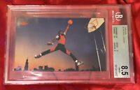 BGS 8.5: 1985 Nike Michael Jordan Rookie RC iconic Air Jordan Jumpman card