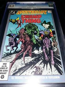 🔥 SWAMP THING #50 - 1ST APP JUSTICE LEAGUE DARK SHOW TV - Alan More story