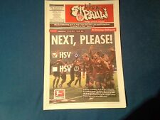 Programm FC St.Pauli - Hannover 96 10/11