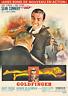 "Reproduction ""James Bond"", Goldfinger Movie Poster, Classics"