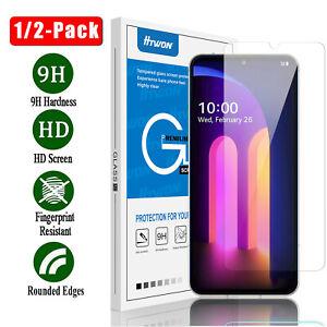 For LG V60 ThinQ 5G V40/V30/V35/V50 Premium Tempered Glass Screen Protector Film