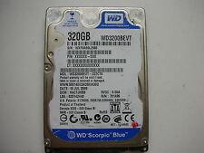 """WD Scorpio Blue 320gb WD3200BEVT-22ZCT0 2061-701499-E00 AC 2,5"""" SATA"""
