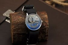 """NOS!!! RUSSIAN SOVIE WATCH SLAVA """"Peter I"""" WORKING USSR VINTAGE  Limited Edition"""