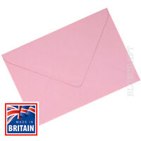 C6 Pastel Pink Envelopes 100gsm Superb Quality - 114 x 162mm
