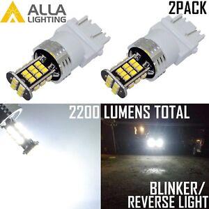 AllaLighting 6000K 30-LED 3156 Back Up Reverse Light,Rear Turn Signal Bulb Whtie