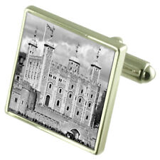 Tower Of London Dungeon Cufflinks With Pouch