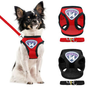 Escape Proof Pet Dog Harness and Lead Soft Mesh Small Puppy Cat Vest Chihuahua
