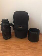 Excellent Condition Nikon ED AF VR-Nikkor 80-400mm 1:4.5-5.6 D VR Lens