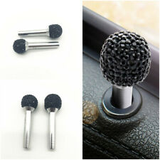 Bling Rhinestone Car Door Interior Lock Knob Handle Pin Decoration Button Trim