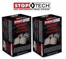 Stoptech Sport Front + Rear Brake Pads 2000-2009 Honda S2000 AP1 AP2