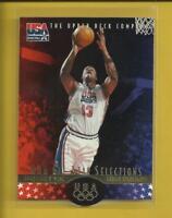 Shaquille O'Neal 1996 Upper Deck USA Basketball Card # 19 L A Lakers Heat NBA