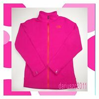 THE NORTH FACE GIRL'S  YOUTH SIZE LARGE 14/16 PINK FLEECE JACKET COAT