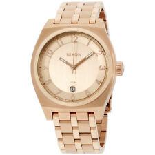 Nixon A325897 Men's The Monopoly Rose Gold Dial Rose Gold Steel Bracelet Watch