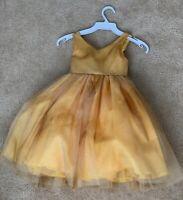 Girls HONEYDEW moose dress 3T 4T 4 5 6 7 NWT reindeer purple cotton knit ruffles