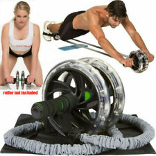 Ab Roller Wheel Pull Rope Taille Bauch Abnehmen Fitness-Trainingsgeräte
