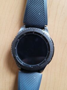 Samsung Gear S3 Frontier 46mm GREAT CONDITION-Stainless Steel