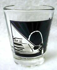 Vintage 1994 Shot Glass ST. LOUIS Purple & Green THE PARADIES COLLECTION USA