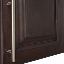 """7009-160-SS - 6-1/4"""" CC Solid Bar Thick Cabinet Pull - Stainless Steel"""