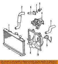 TOYOTA OEM 00-05 Celica-Engine Water Pump 1610029145